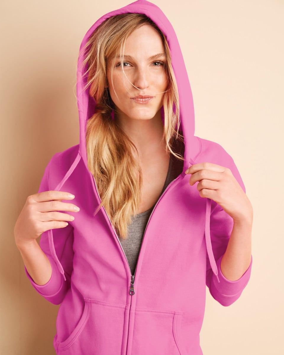 Ladies' Zipped Hoodies