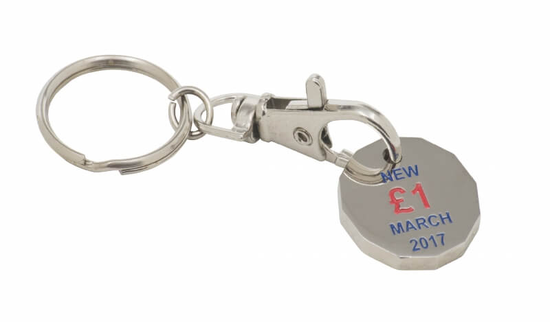 Trolley Coin Keyrings