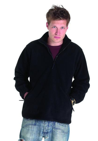 Men's Quarter Zip Fleece Jackets